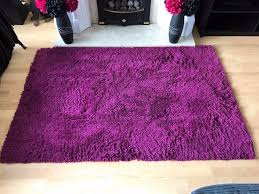 Thick Pile Rug Purple Deep Pile Rug 120 X 170cm U0027s In Hedon East Yorkshire