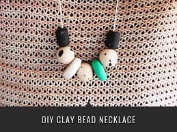 beads necklace tutorial images Diy clay bead necklace melyssa griffin jpg