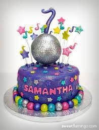 dance party birthday sweet flamingo cake co