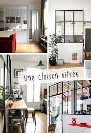 cloison vitree cuisine salon on aime le coté atelier avec les cloisons vitrées à mettre dans