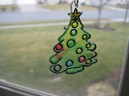 stained glass ornaments on a budget make and takes