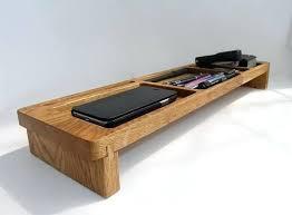 wood desk organizers wood desk organizer tray office organization