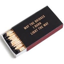 may the bridges i burn light the way vetements may the bridges i burn light the way extra large matchbox waiting