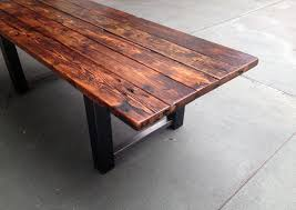 reclaimed wood outdoor table 34 incredbile reclaimed wood dining tables