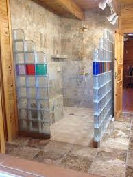 decoration ideas fetching colorful glass block wall also chrome artistic decoration in bathroom interior design photos of glass block showers ideas fetching colorful glass