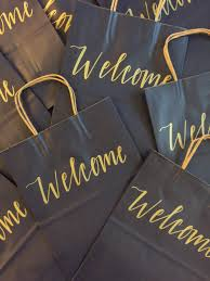 hotel welcome bags wedding welcome bags set of 10 hotel gift bags personalized