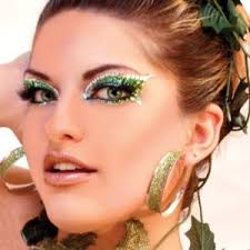 make up for butterfly costume glitter professional make up