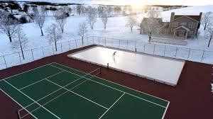 ez ice diy 60 minute backyard ice rink dudeiwantthat com