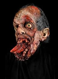 Awesome Scary Halloween Costumes Big Mouth Latex Zombie Mask Halloween Horror Zombies 101