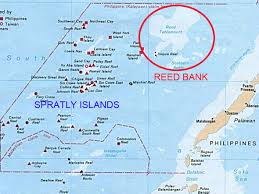 Spratly Islands Map South China Sea Dispute Philippines Celebrates Victory But China