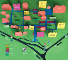 Festival Map Maps And Directions To The Hay Festival In Wales