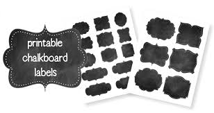 free printable chalkboard labels life your way