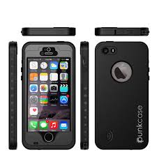 amazon black friday phone cases amazon com iphone 5s 5 waterproof case punkcase studstar black