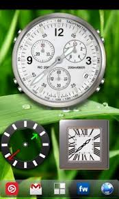 analog clock widgets for android analog clock widget pack free lge android analogclock