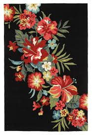 Recycled Outdoor Rug by Dori Black U0026 Tropical Hand Tufted Recycled Pet Outdoor Rug