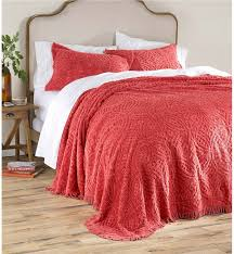 king wedding ring tufted chenille bedspread bedspreads