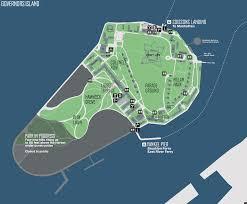 Nyc Maps Governors Island Bike Map Nyc Bike Maps