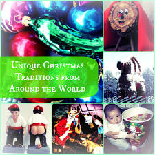 13 strange fun and unique christmas traditions from around the world