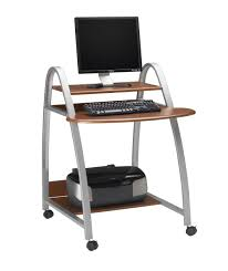 Computer And Printer Desk Mayline Furniture 971 Mayline Eastwinds Mobile Arch Computer Desk