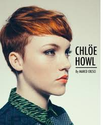 fades and shave hairstyle for women red fade hair pinterest pixies short hair and pixie cut
