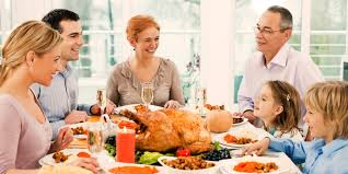 thanksgiving feast family talk huffpost