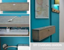 build a charging station 20 diy phone charging stations home diy projects