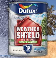 dulux weather shield exterior walls masonry paint smooth jasmine