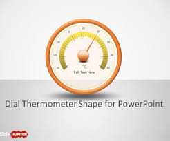 free dial thermometer shapes for powerpoint free powerpoint