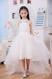 kids wedding dresses 2015 new summer princess pageant dress halter trailing