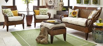 Rattan Living Room Furniture Wicker Furniture Pier 1 Imports