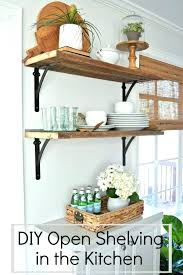 kitchen shelf decorating ideas floating shelves decor bothrametals