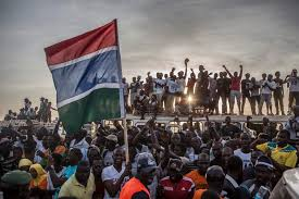 Gambia Flag Out With The Old And In With The New Gambia U2013 Images Jason