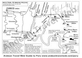 Route 40 Map by Inca Trail To Machu Picchu