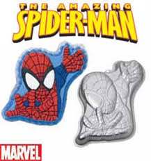 spider man cake pan wilton