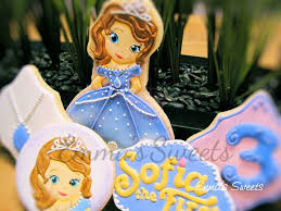 64 princess sofia cookies cakes ideas images