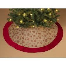 burlap christmas tree skirt glitter snowflake burlap christmas tree skirt 48 inch diameter