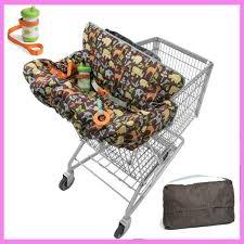 siège bébé caddie enfants supermarché panier couverture trois point harnais de