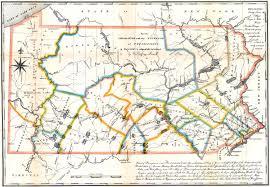 Gettysburg Pennsylvania Map by Pennsylvania Survey Map 1791 Pennsylvania U2022 Mappery