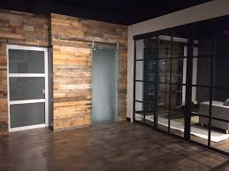 Wood Wall Panels by Just Completed This Project For The Sliding Door Company In