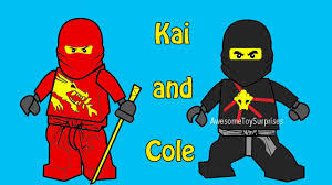 lego ninjago cole and kai coloring page fun coloring activity for