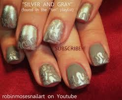 fifty shades of grey nails easy nail art tutorial 50 shades of