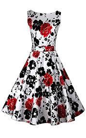 acevog vintage 1950 u0027s floral spring garden party picnic dress