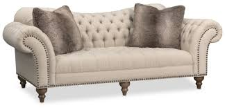 brittney sofa chaise and chair set linen american signature