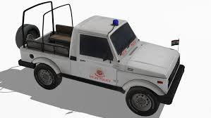 maruti jeep maruti gypsy 3d max