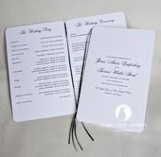 Wedding Ceremony Pamphlets Why Choose One Color When You Can Choose Them All Jekyll Island