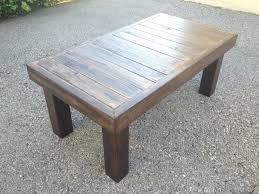 Rustic Brown Coffee Table Brown Wood Coffee Table Coffee Tables Simple Brown Finished
