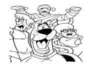 fred daphne careful scooby doo 0d14 coloring pages printable