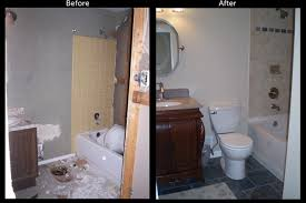 Bathroom Remodels Before And After Home Improvement Contractors To Remodel Your Bathroom 9hammers