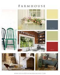 Farmhouse Home Mood Board Inspirational Photography Blog