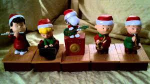 peanuts christmas band from hallmark youtube